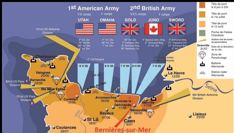 Normandy Landing Beaches Tours
